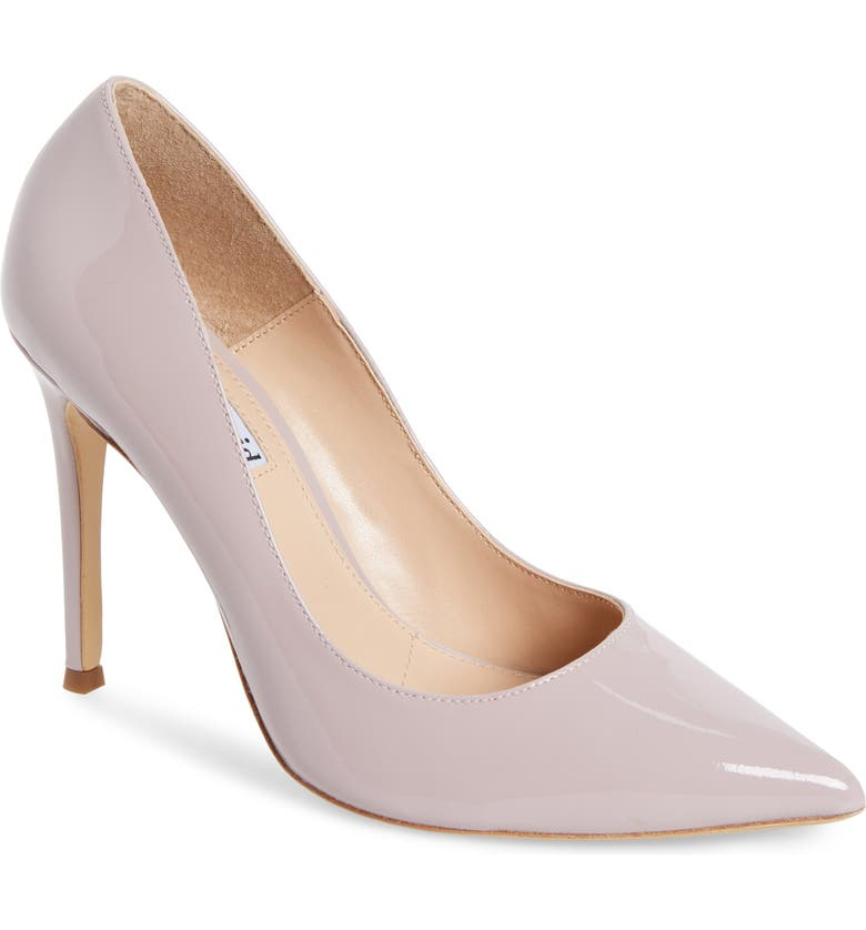 CHARLES DAVID Calessi Pointy Toe Pump, Main, color, LAVENDER PATENT LEATHER