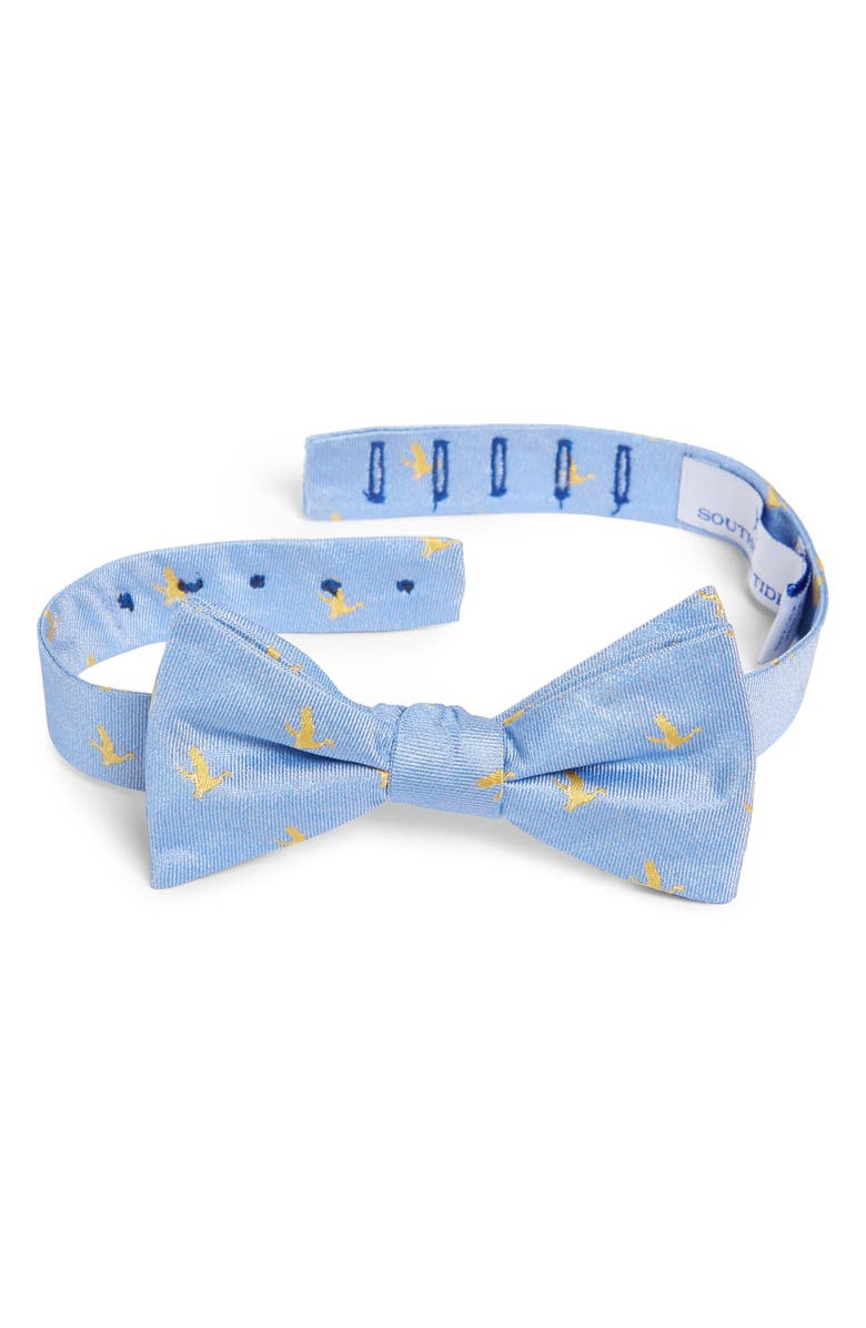 SOUTHERN TIDE Chesapeake Mallard Silk Bow Tie, Main, color, 400