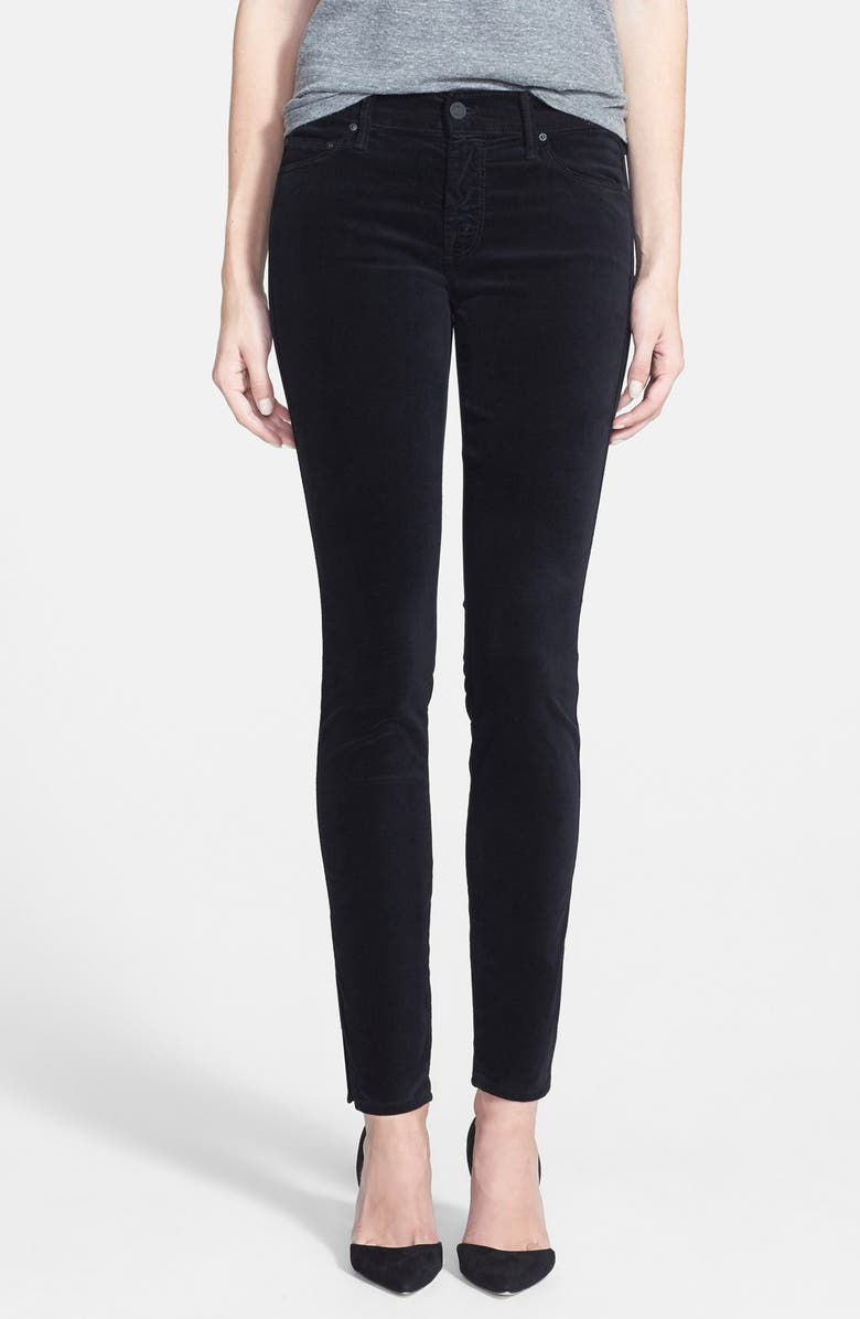 6204f0f61d9 MOTHER 'The Vamp' Ankle Slit Jeans (My Life As A Snow Bunny) | Nordstrom