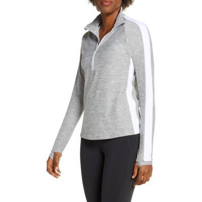 New Balance Transform Half-Zip Pullover, Grey