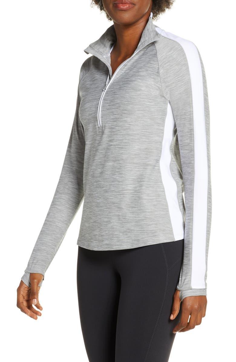 NEW BALANCE Transform Half-Zip Pullover, Main, color, 020