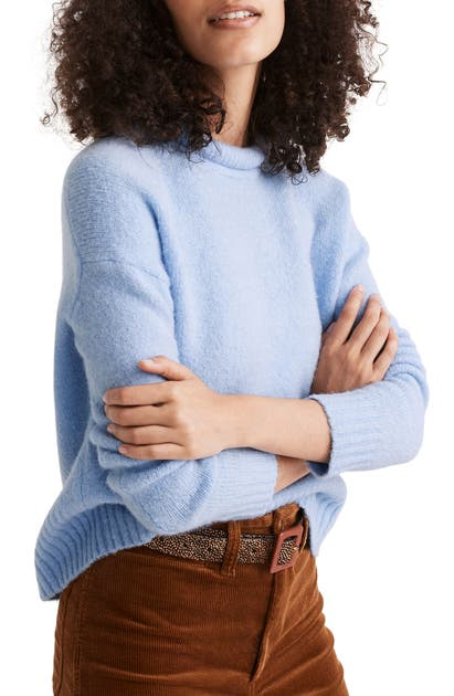 Madewell FULTON PUFF NECK TRIM PULLOVER