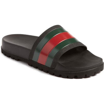 Gucci Slide Sandal, Black