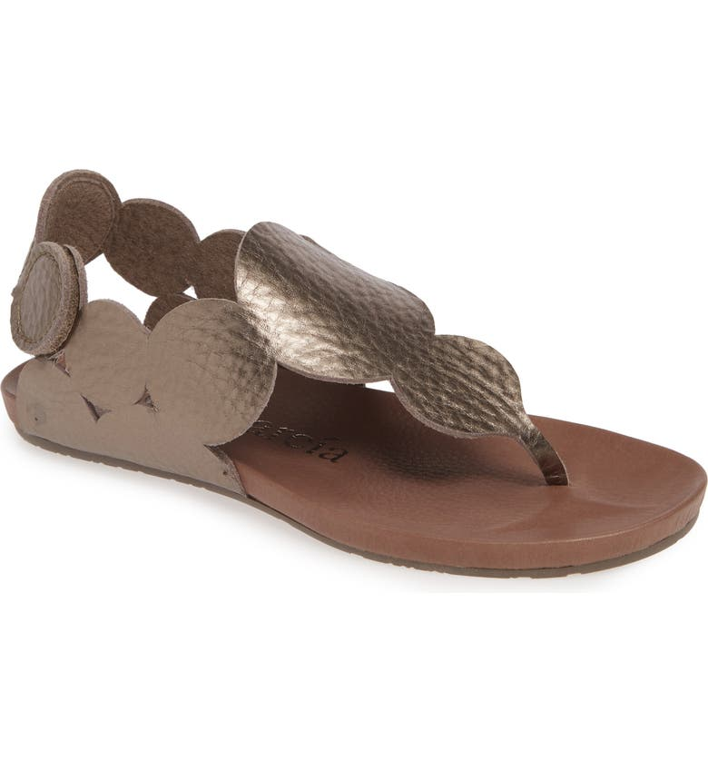 PEDRO GARCIA Jamee Sandal, Main, color, NUT CERVO LAME