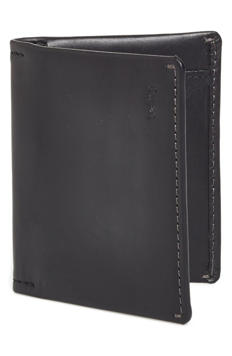 BELLROY Slim Sleeve Wallet, Main, color, BLACK