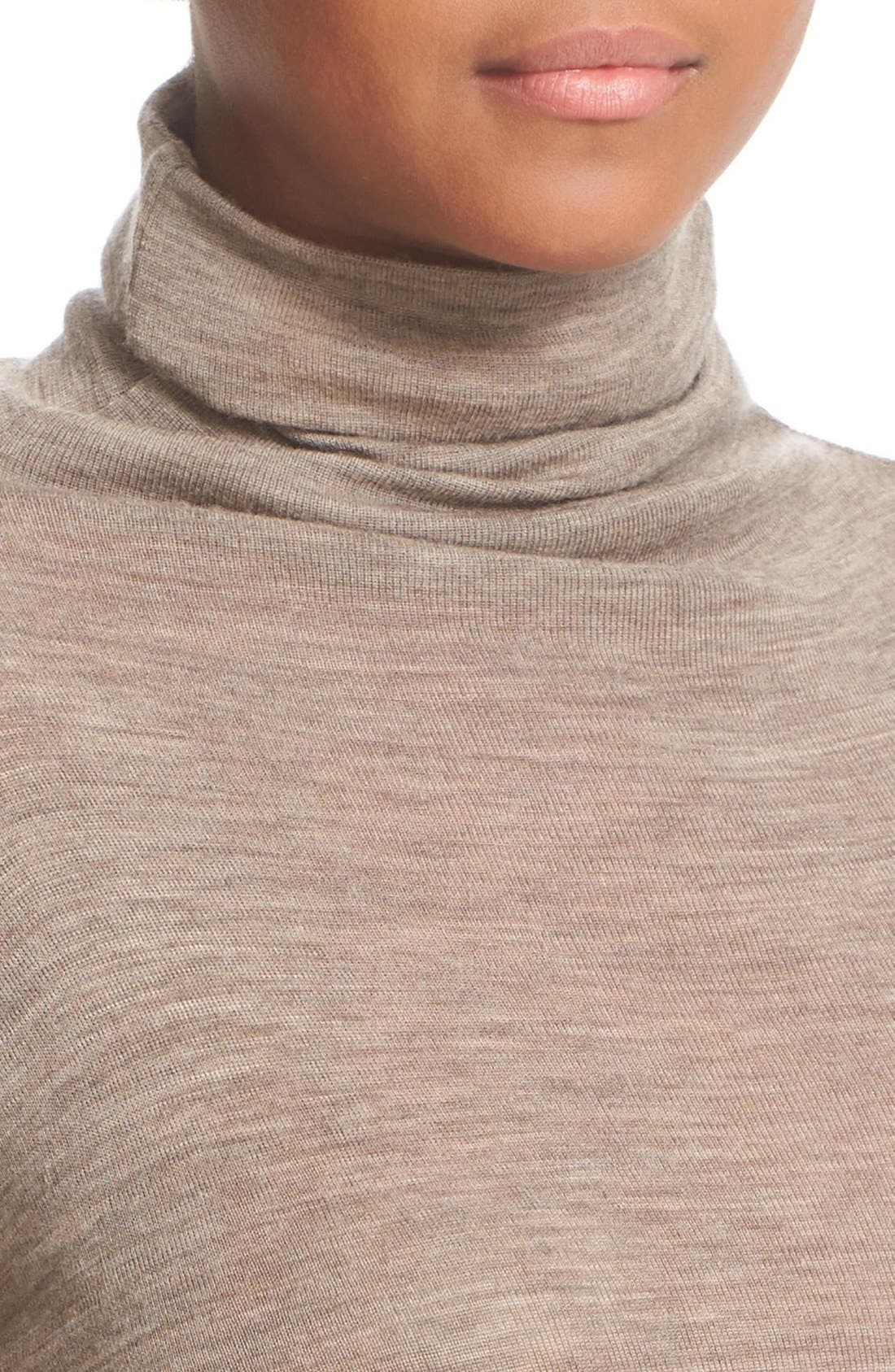 ,                             Lightweight Wool Funnel Neck Sweater,                             Alternate thumbnail 15, color,                             200