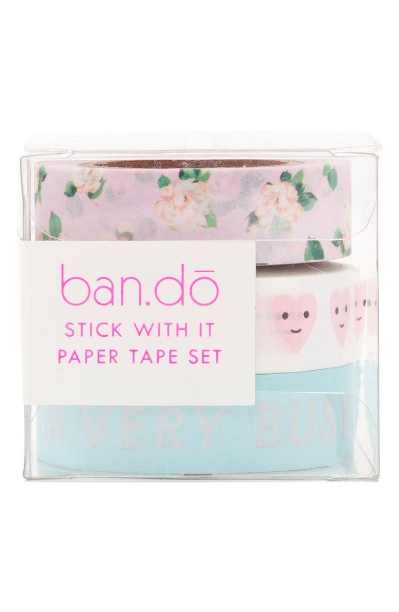 BAN.DO Paper Tape Set, Main, color, 400