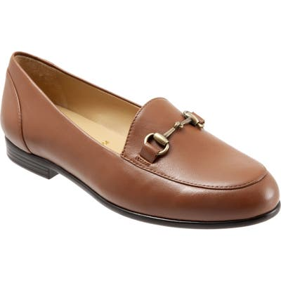 Trotters Anice Bit Loafer W - Brown