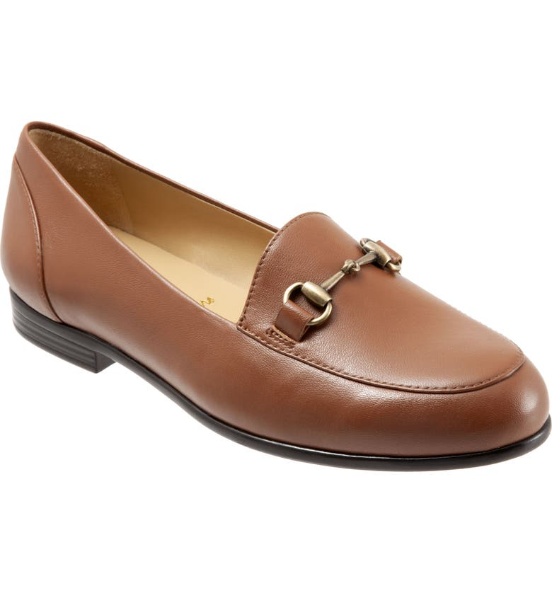 TROTTERS Anice Bit Loafer, Main, color, LUGGAGE LEATHER