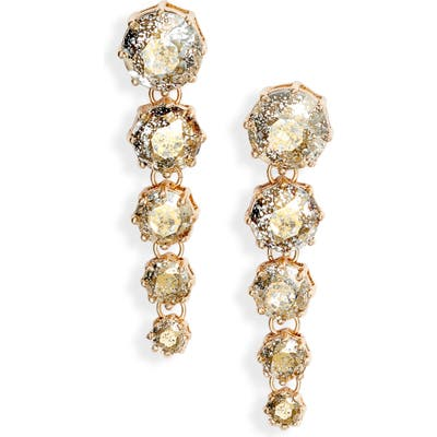 Rachel Parcell Cascading Linear Earrings (Nordstrom Exclusive)