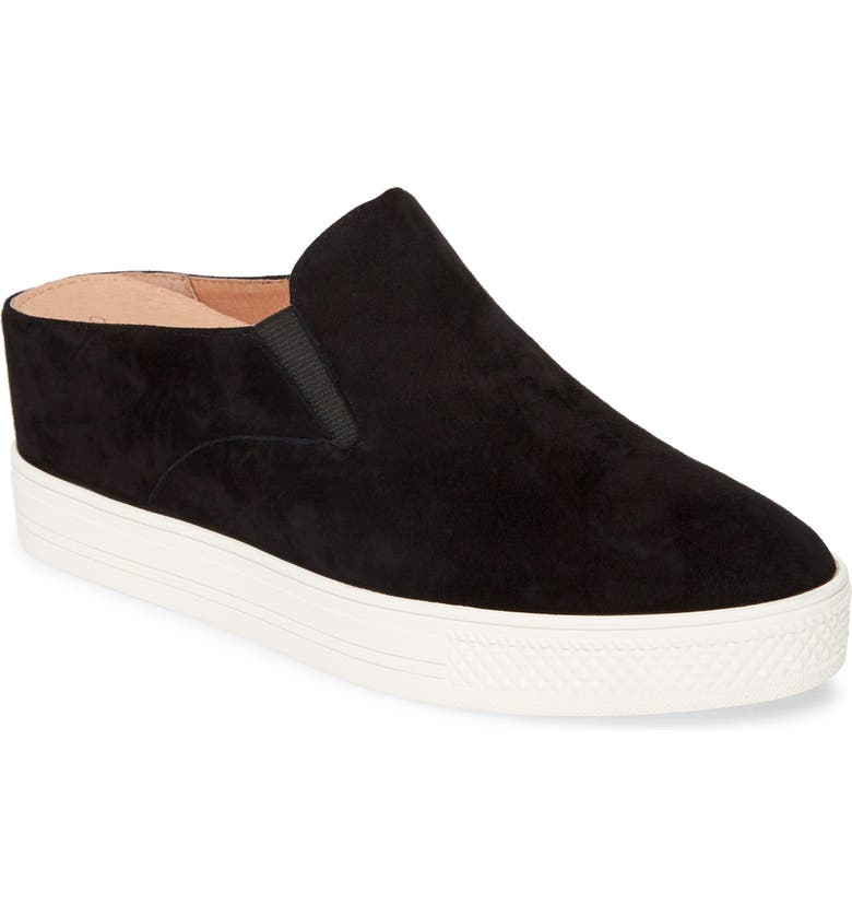 CASLON<SUP>®</SUP> Alysha Slip-On Sneaker, Main, color, BLACK SUEDE