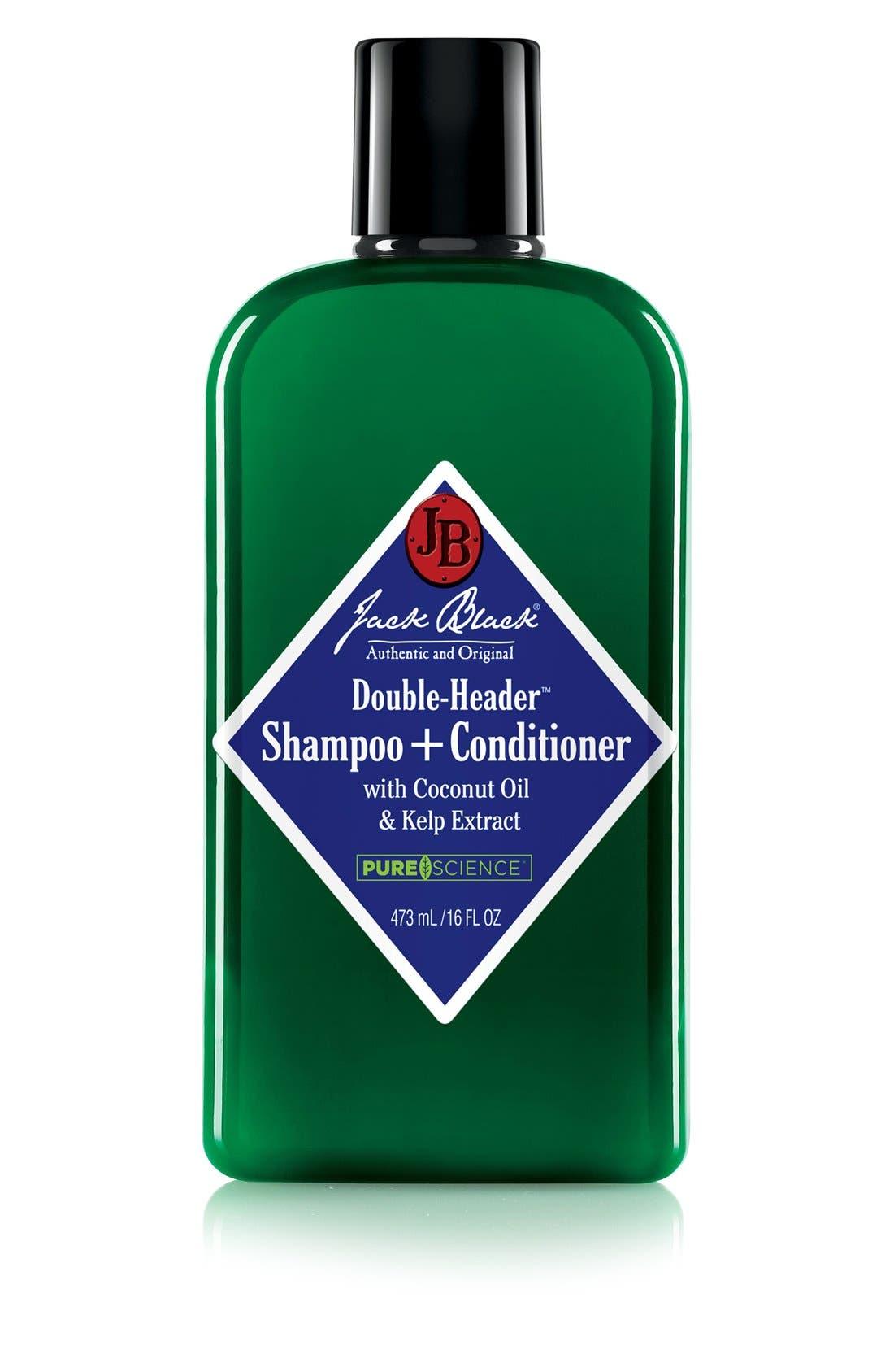 Double-Header<sup>™</sup> Shampoo + Conditioner, Main, color, NO COLOR