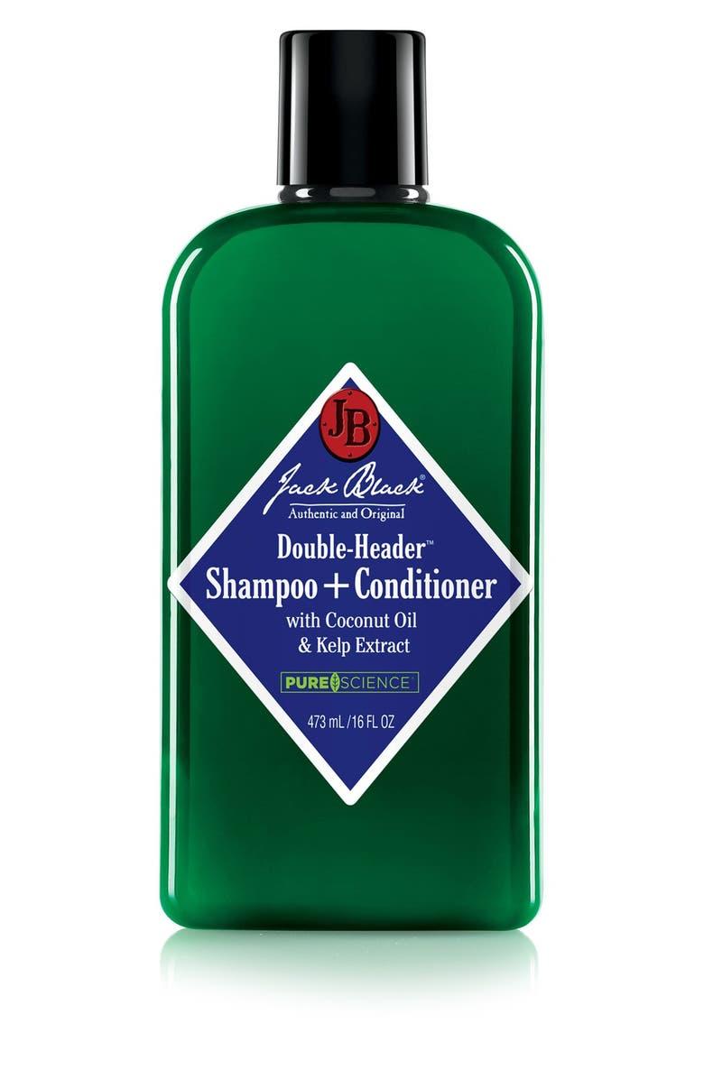 JACK BLACK Double-Header<sup>™</sup> Shampoo + Conditioner, Main, color, NO COLOR