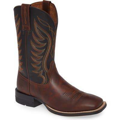 Ariat Ranch Work Cowboy Boot, Brown