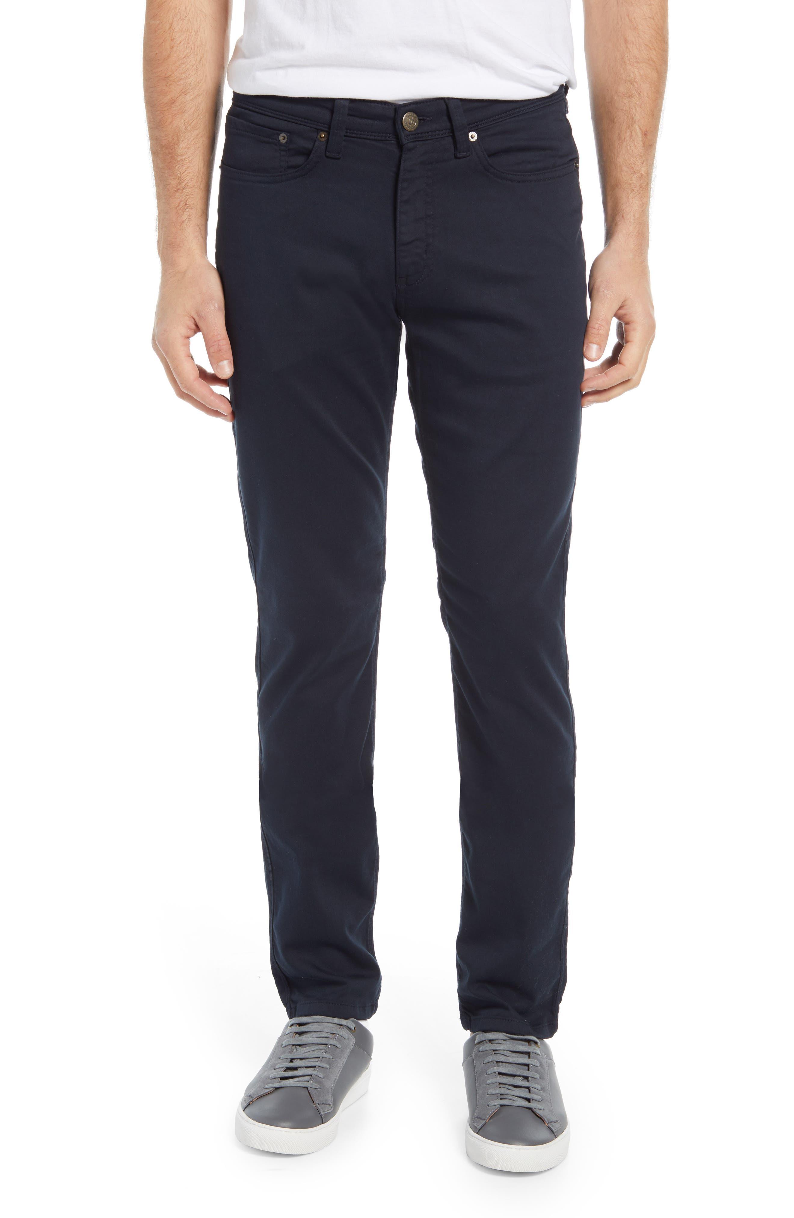 No Sweat Slim Fit Performance Men's Five Pocket Pants