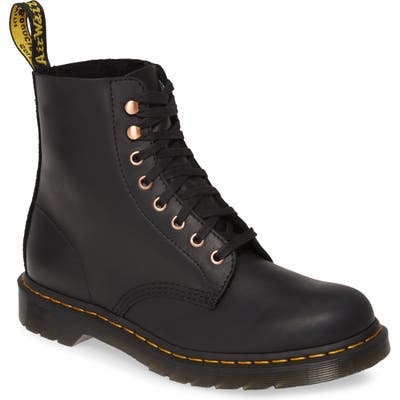 Dr. Martens Pascal Plain Toe Boot, Black