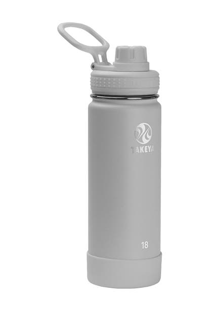 Image of Takeya Pebble Actives Insulated 18 oz. Spout Lid Stainless Steel Bottle