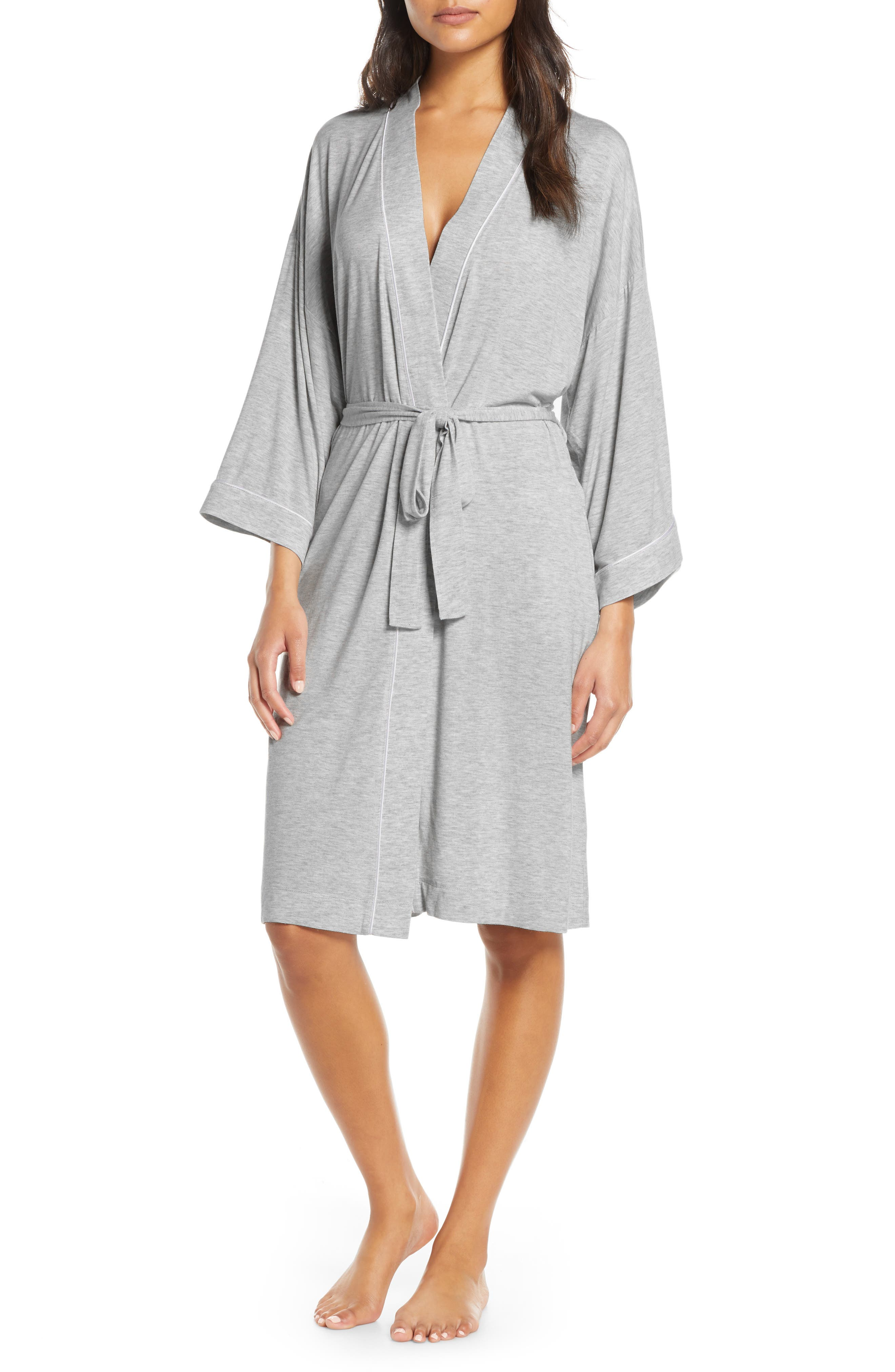Nordstrom Lingerie Moonlight Jersey Robe