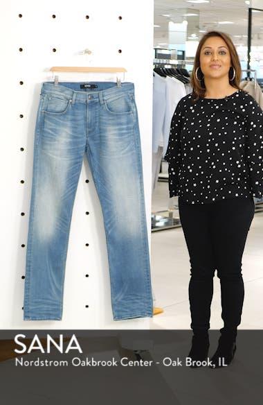 Byron Slim Straight Leg Jeans, sales video thumbnail