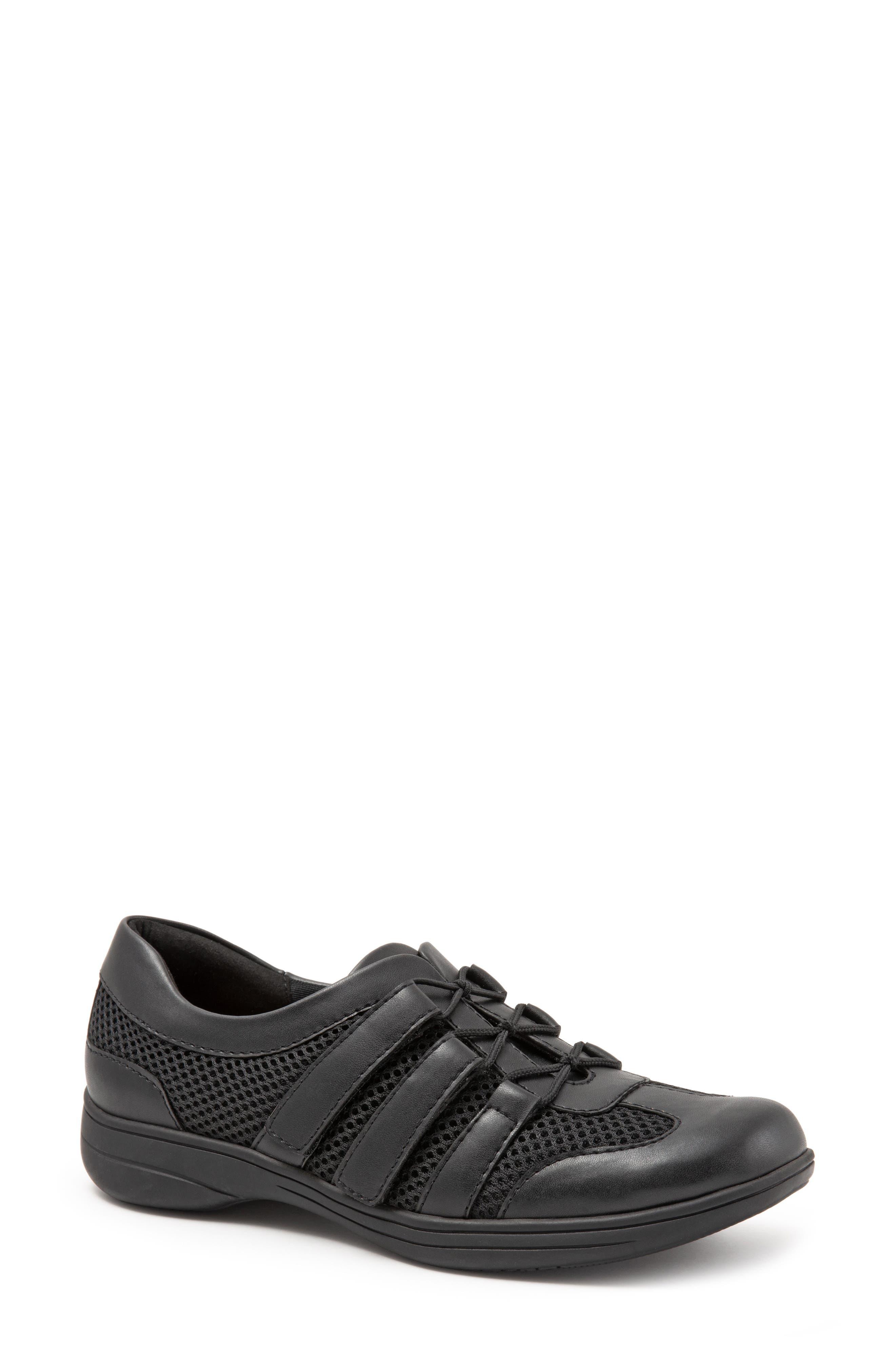 Trotters Joy Slip-On Sneaker, Black