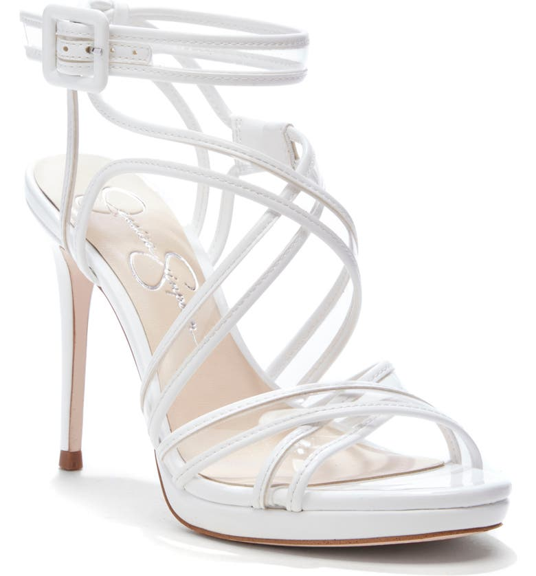 JESSICA SIMPSON Kendele Sandal, Main, color, BRIGHT WHITE