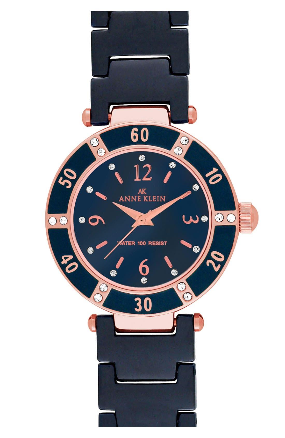 ,                             Round Ceramic Bracelet Watch, 31mm,                             Main thumbnail 12, color,                             400