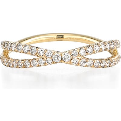 Kwiat Fidelity Crossover Diamond Band Ring