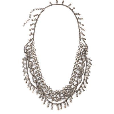 Saint Laurent Bell Bib Necklace