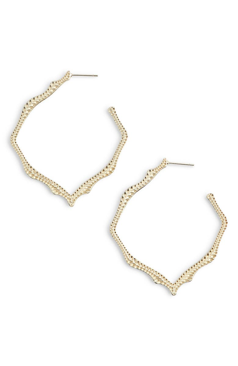 KENDRA SCOTT Miku Drop Earrings, Main, color, GOLD
