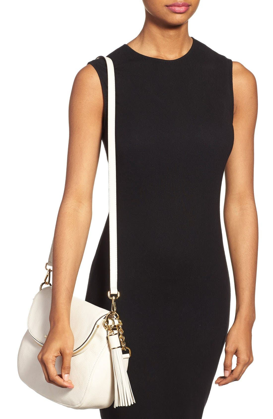,                             'Bedford Tassel - Medium' Convertible Leather Shoulder Bag,                             Alternate thumbnail 53, color,                             901