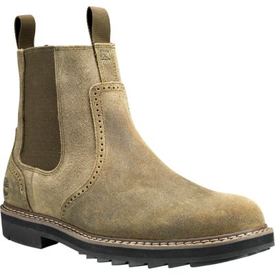 Timberland Squall Canyon Waterproof Chelsea Boot, Green