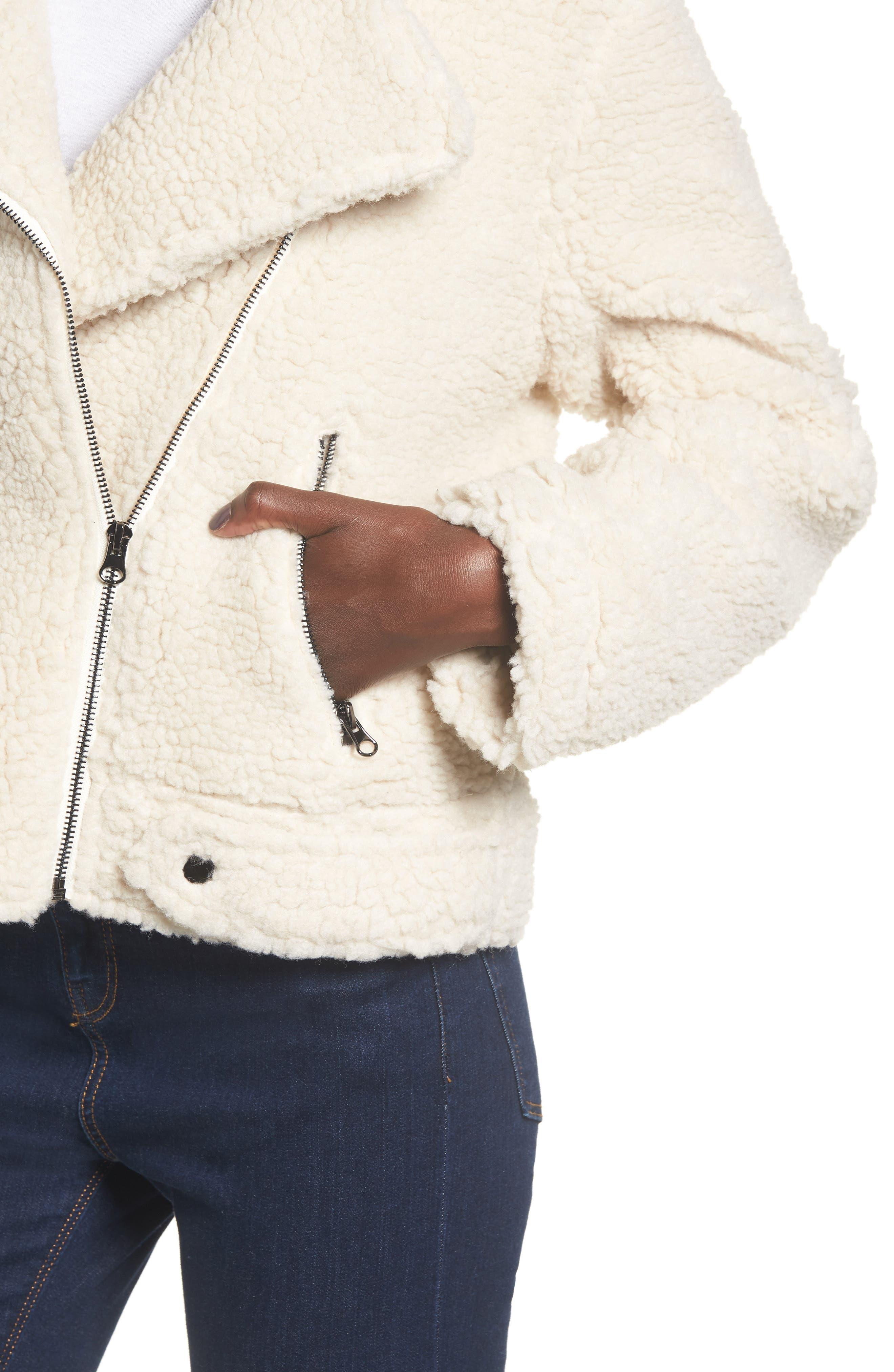 ,                             Brooklyn High Pile Fleece Jacket,                             Alternate thumbnail 8, color,                             900