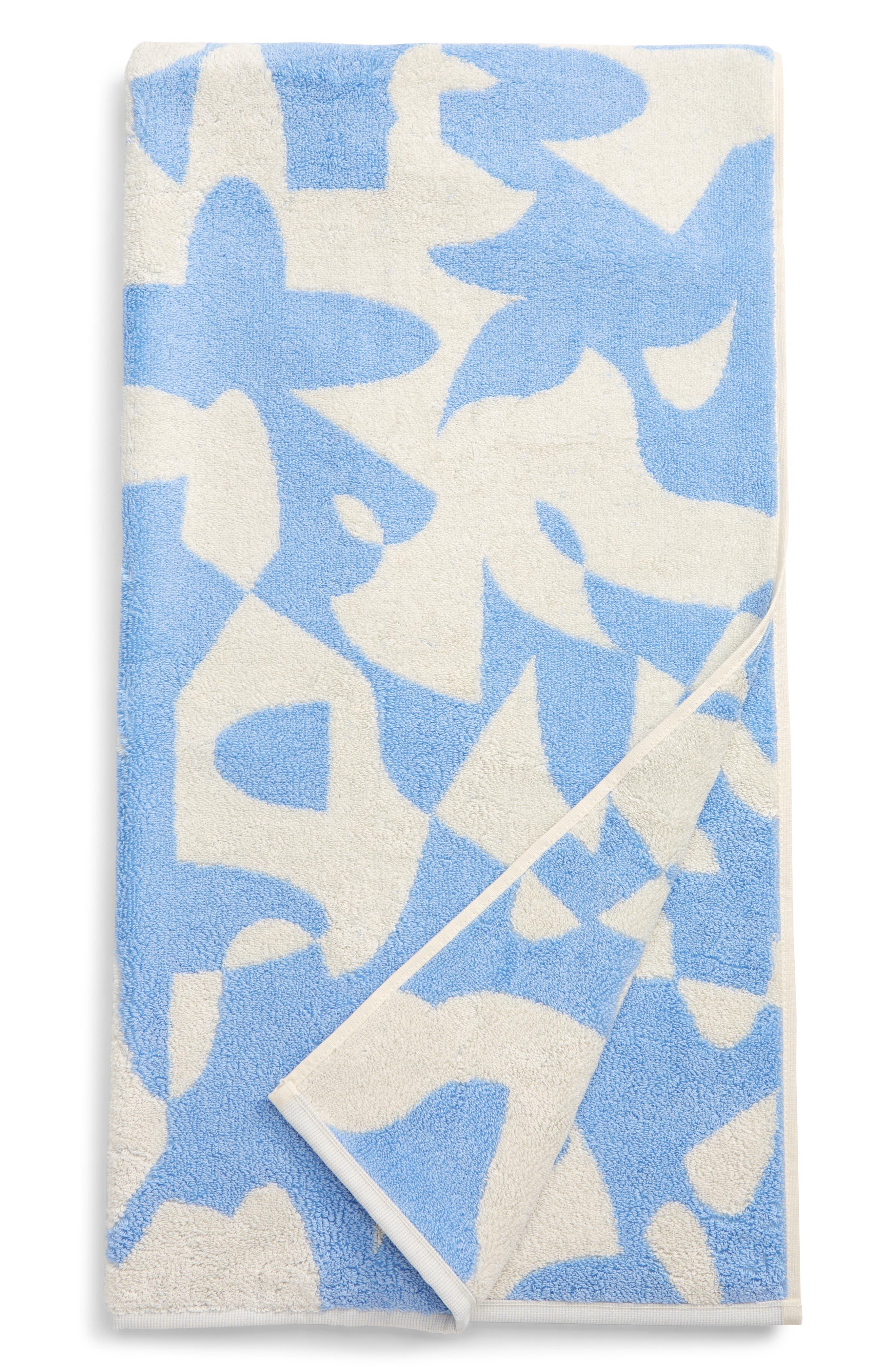 Dusen Dusen Hepta Jacquard Reversible Bath Towel
