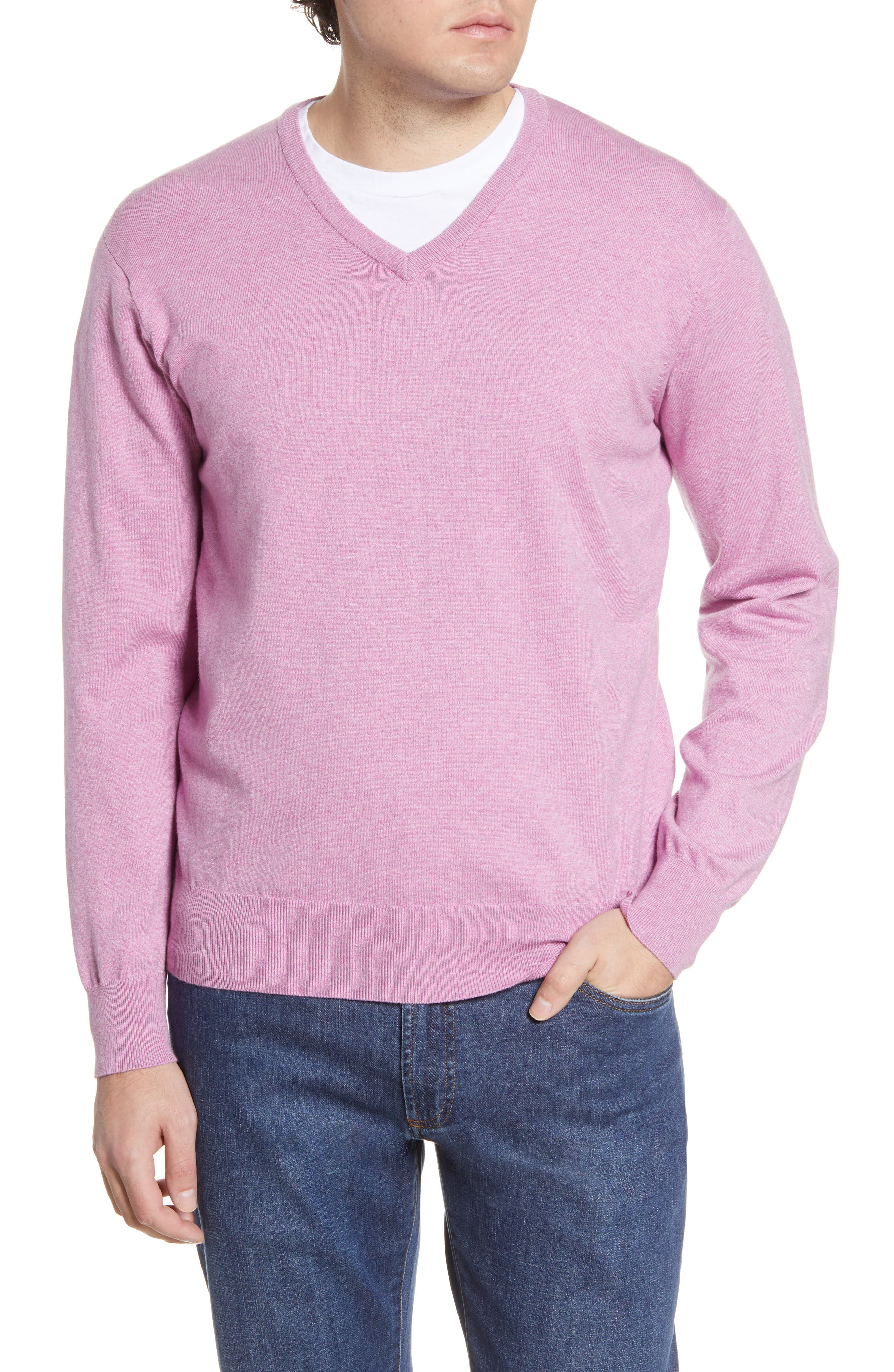 Image of Peter Millar Crown Soft V-Neck Sweater