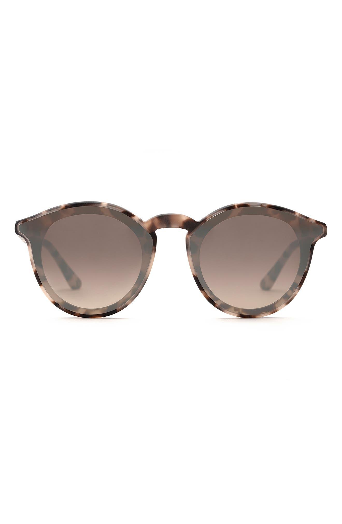 Collins 62mm Gradient Oversize Round Sunglasses