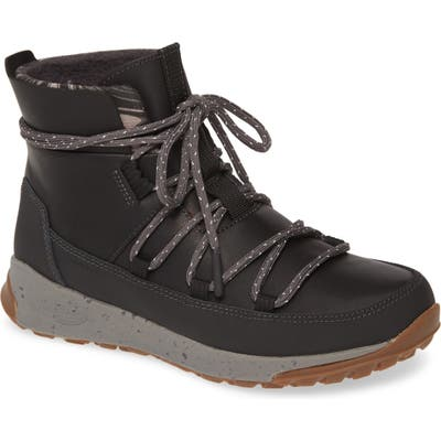 Chaco Borealis Peak Waterproof Lace-Up Boot, Black