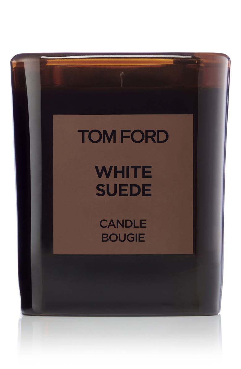 TOM FORD Private Blend White Suede Candle, Main, color, NO COLOR