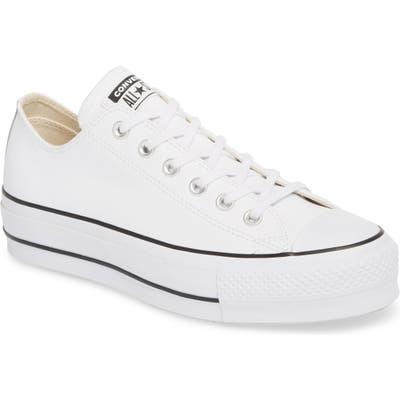 Converse Chuck Taylor All Star Platform Sneaker, White