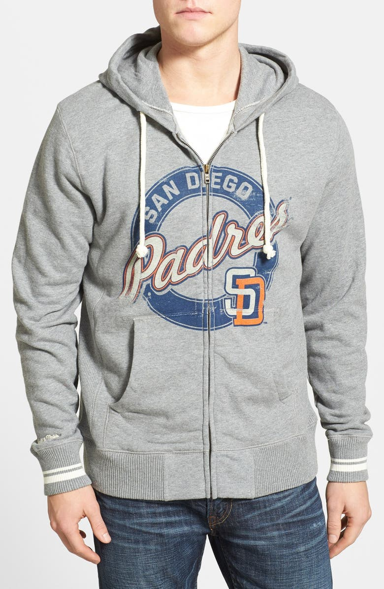 timeless design 8e87a a93c4 Mitchell & Ness 'San Diego Padres' Full Zip Hoodie | Nordstrom
