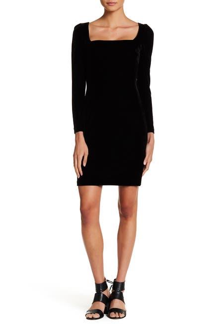 Image of Alexia Admor Velvet Sheath Dress