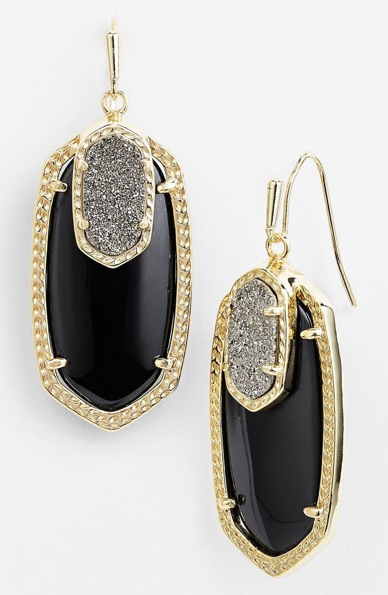 KENDRA SCOTT 'Emmy' Drop Earrings, Main, color, 001