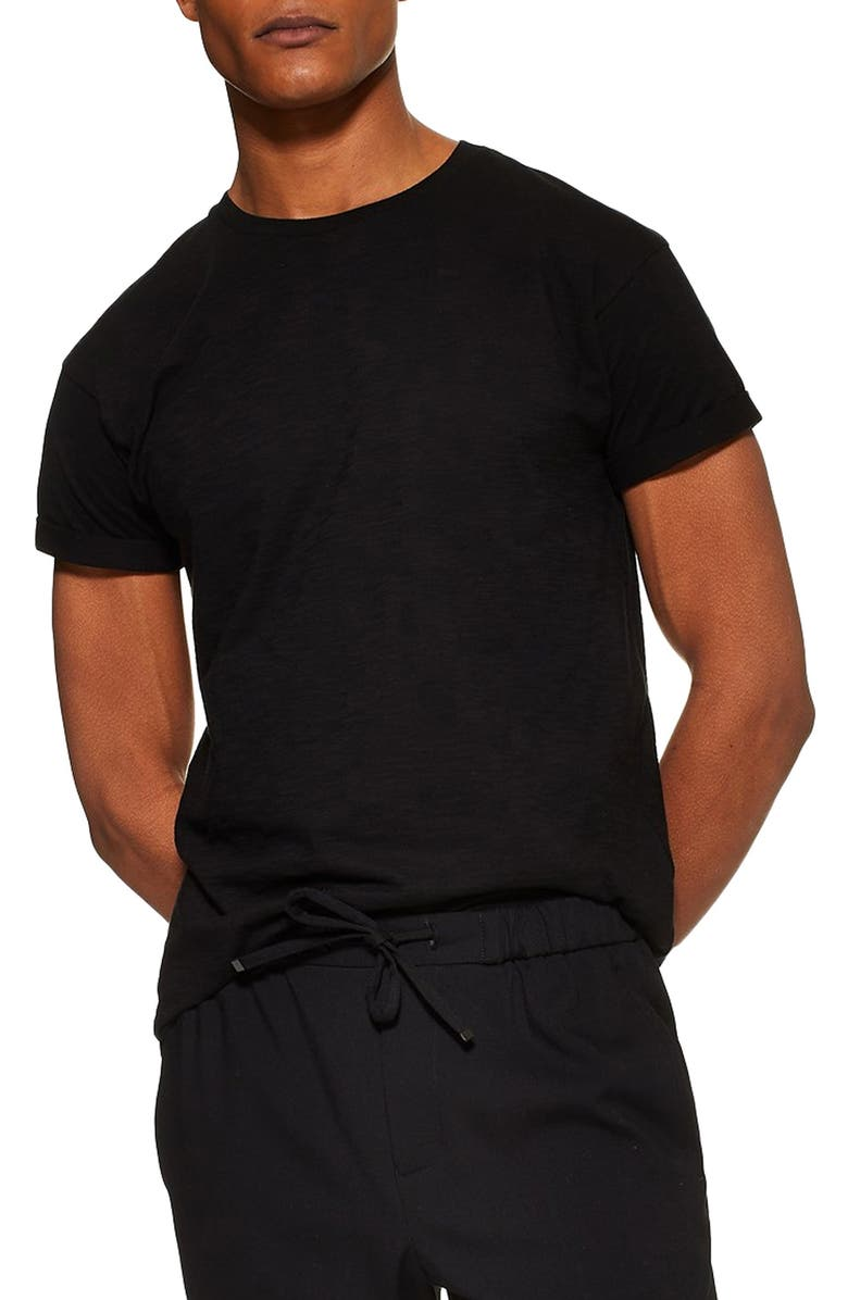 Skinny Fit Roller T Shirt by Topman