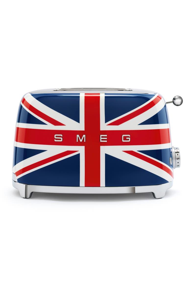 SMEG Union Jack Two-Slice Toaster, Main, color, UNION JACK