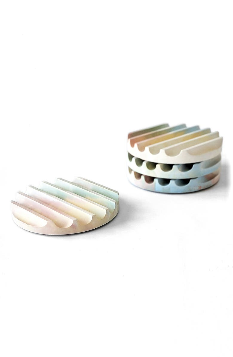 PRETTI.COOL 4-Pack Candy Coasters, Main, color, JAWBREAKER