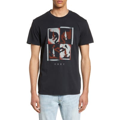 Obey Blade Icon Graphic T-Shirt