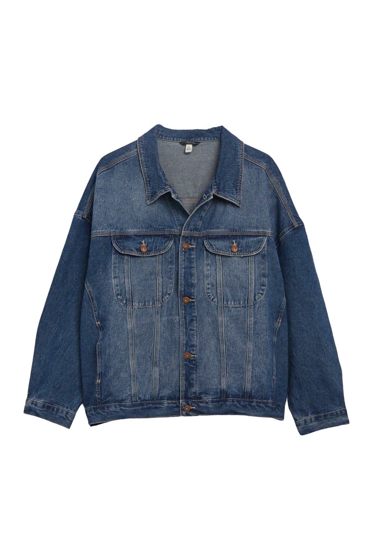 Image of SUPPLIES BY UNIONBAY Brecan Relaxed Denim Jacket