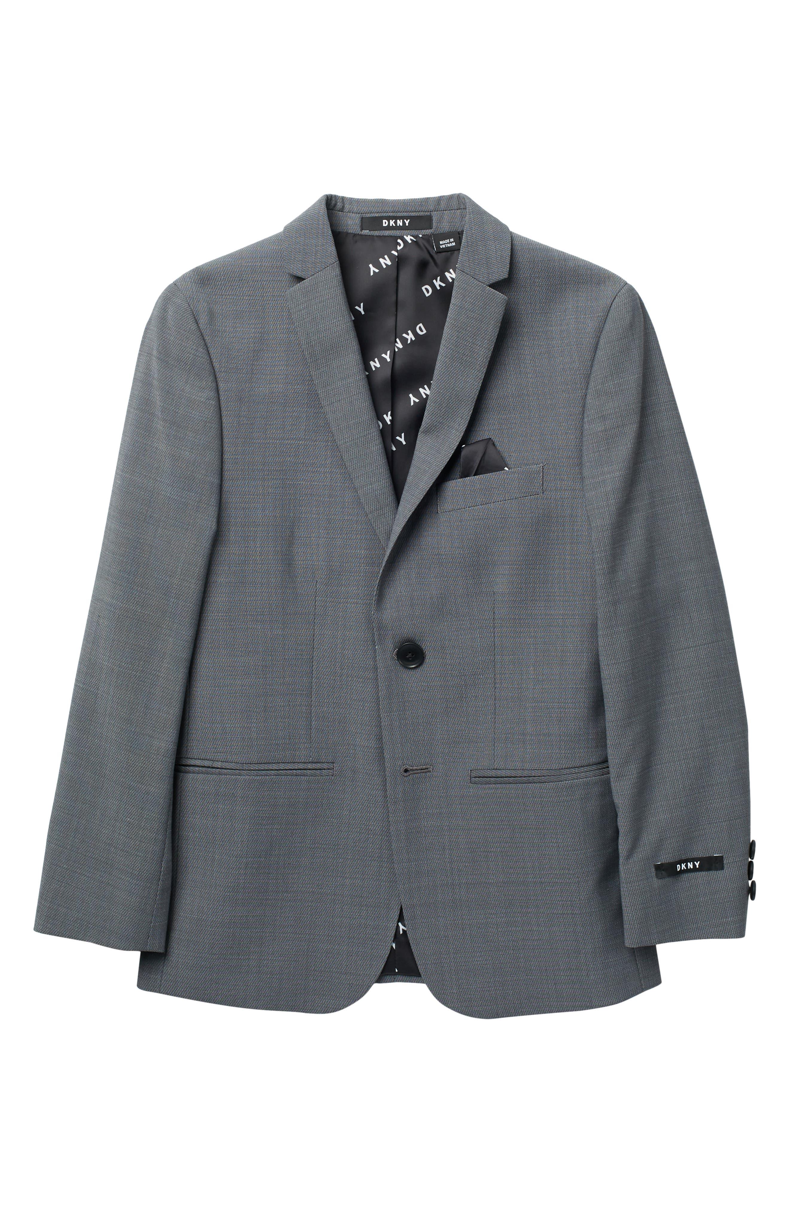 Image of DKNY Neat Wool Poly Jacket