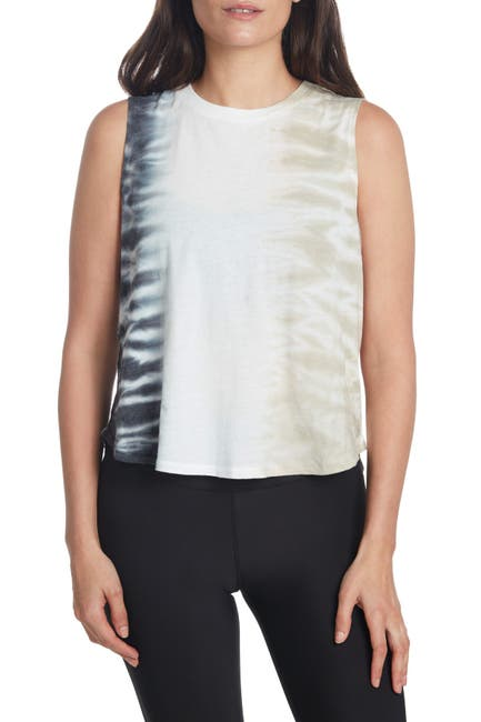 Image of SAGE COLLECTIVE Tie-Dye Muscle Tank Top