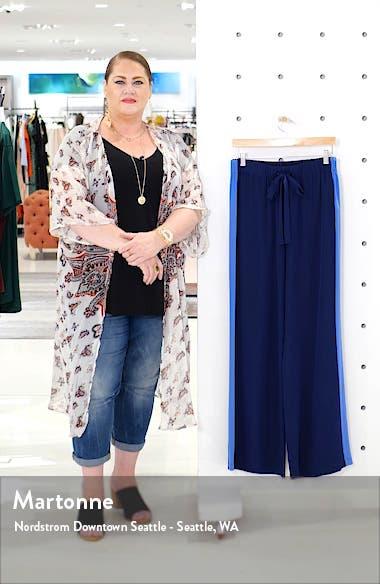 Ellington Side Stripe Drawstring Silk Pants, sales video thumbnail