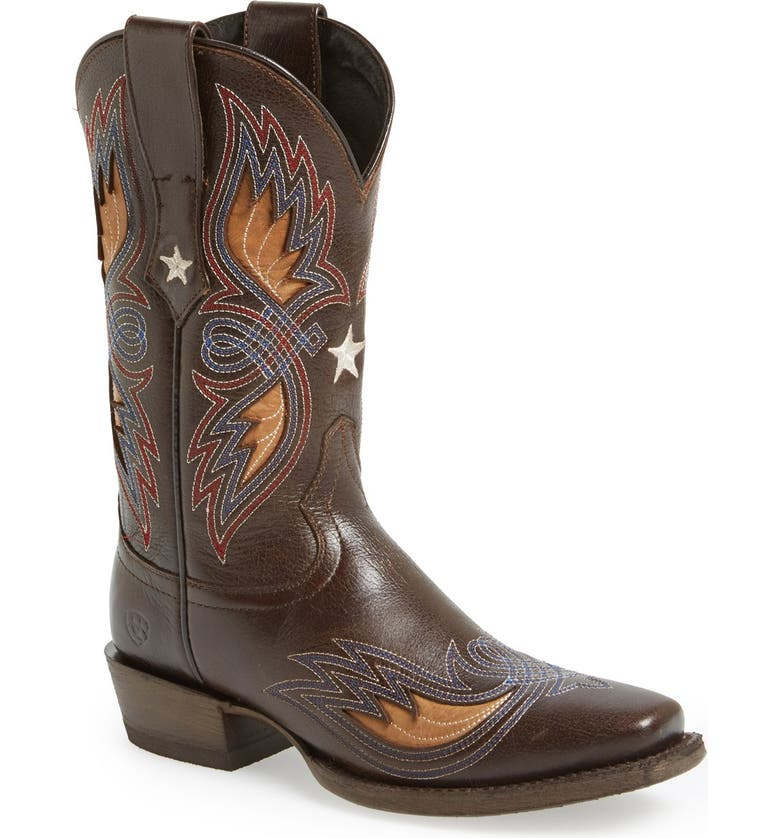 ARIAT 'Valencia' Western Boot, Main, color, 201